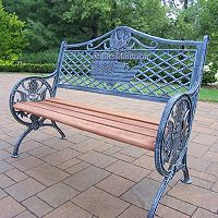 Mississippi God Bless America Bench
