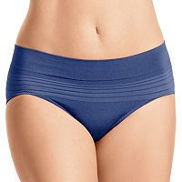 Warner's No Pinching No Problem Seamless Striped Hipster Panty RU0501P