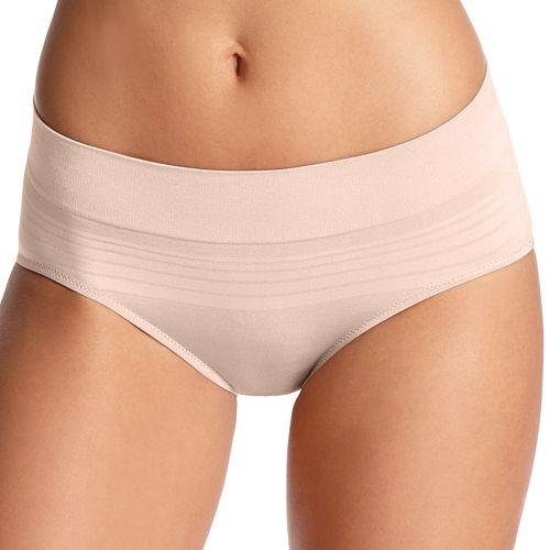 Warner's No Pinching No Problem Seamless Striped Hipster Panty RU0501P