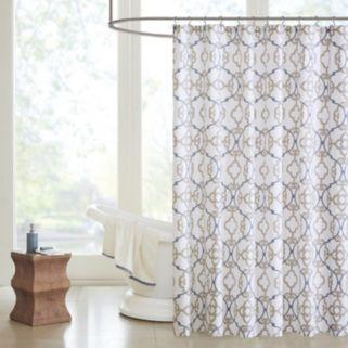 Madison Park Pure Nicola Shower Curtain