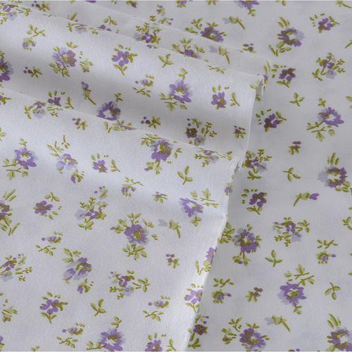 Laura Ashley Lifestyles Petite Fleur 4-piece 300 Thread Count Sheet Set