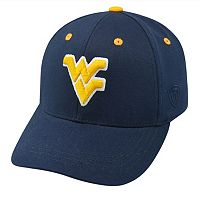 Youth Top of the World West Virginia Mountaineers Rookie Cap