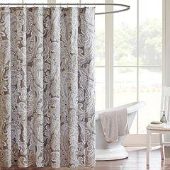 Madison Park Pure Dermot Shower Curtain