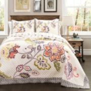 Lush Decor Aster 3-piece Quilt Set