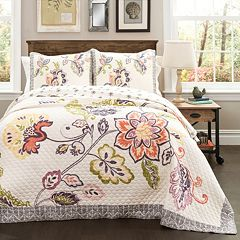 Lush Decor Aster 3-piece Quilt Set