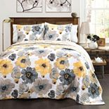 Lush Decor Leah Quilt Set