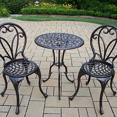 Grace 3 pc Bistro Set