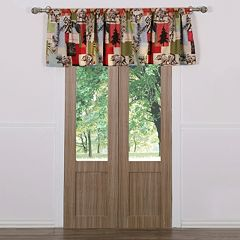 Rustic Lodge Window Valance - 42'' x 19''