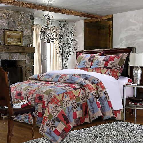 Rustic Lodge Quilt Set