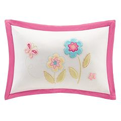 Mi Zone Kids Flower Power Oblong Throw Pillow
