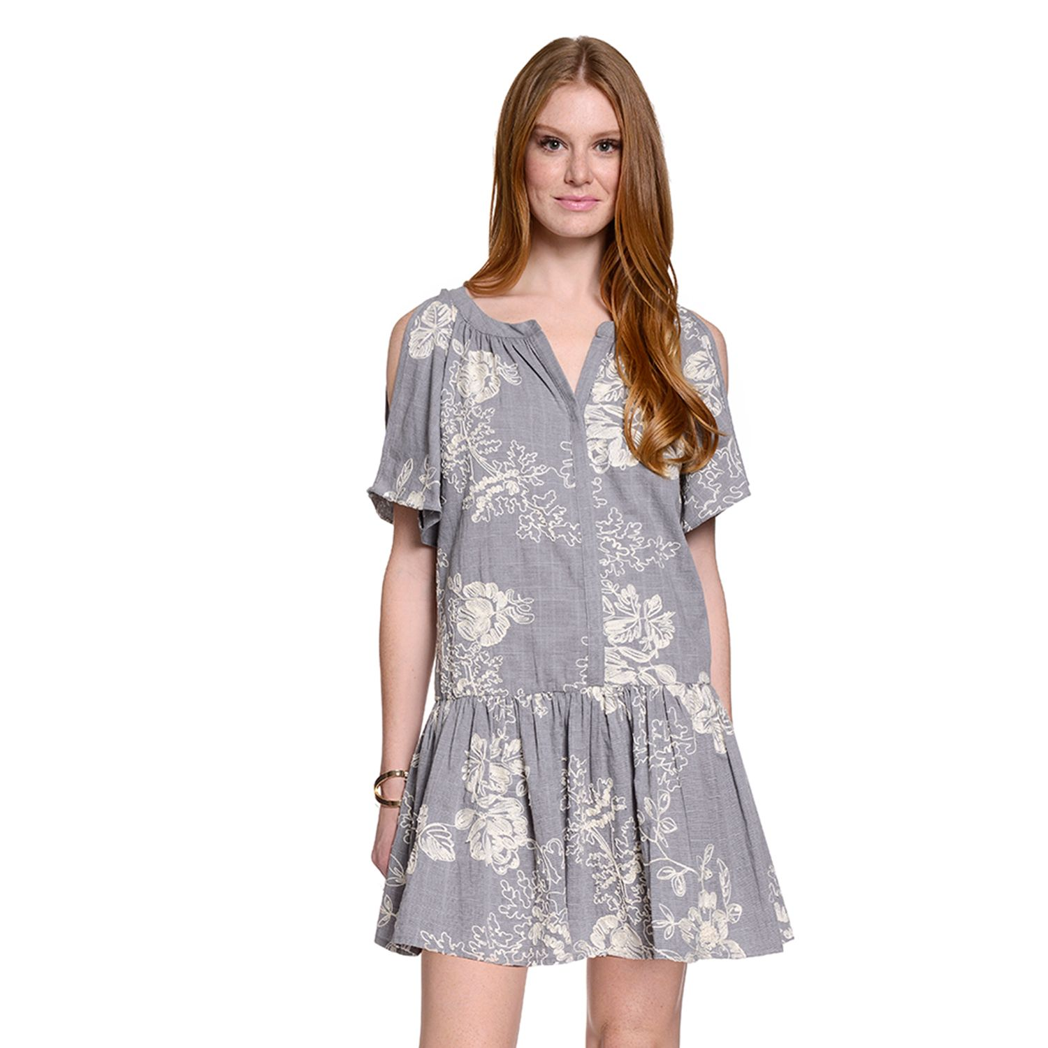 Womens Indication by ECI Floral Shift Dress