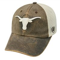 Adult Top of the World Texas Longhorns Scat Mesh Cap