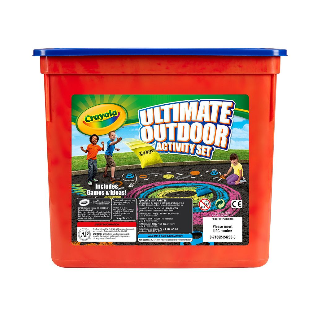 Crayola Ultimate Outdoor Activity Kit
