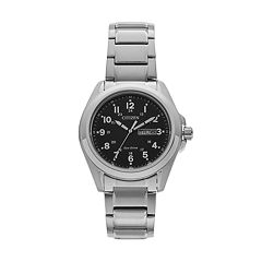 Citizen Eco-Drive Men's Sport Stainless Steel Watch - AW0050-82E