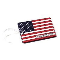 Samsonite US American Flag Luggage ID Tag