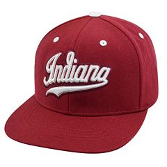 Adult Top of the World Indiana Hoosiers Flat-Bill Cap