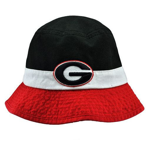 4d06bc93b46 Adult Top of the World Georgia Bulldogs Trifecta Bucket Hat