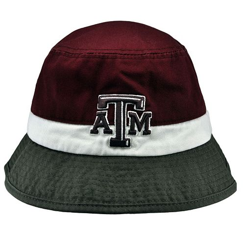 Adult Top of the World Texas A&M Aggies Trifecta Bucket Hat