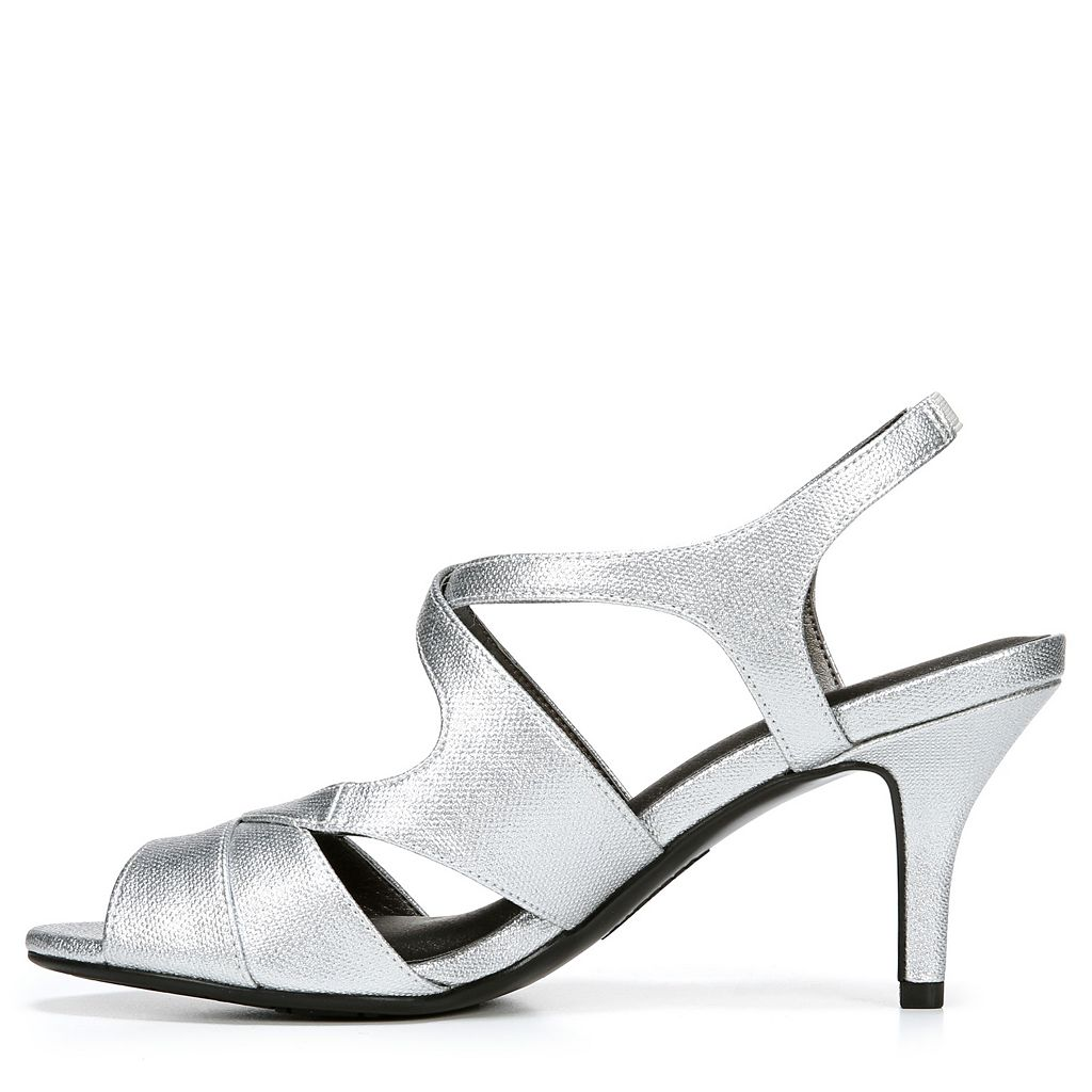 LifeStride Note Women's Peep-Toe High Heels