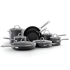 Calphalon Classic 14-pc. Hard-Anodized Nonstick Aluminum Cookware Set