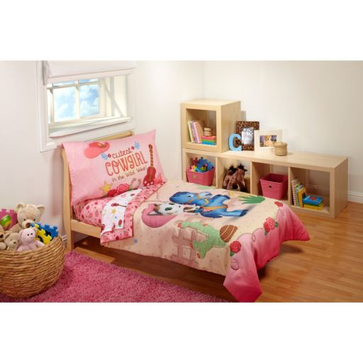"Disney's Sheriff Callie ""Cutest Cowgirl"" 4-pc. Toddler Bedding Set"