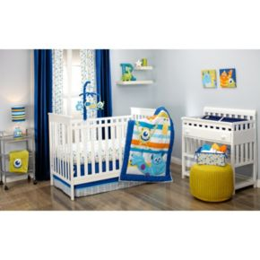 Disney / Pixar Monsters Inc. Monsters at Play 4-pc. Crib Bedding Set