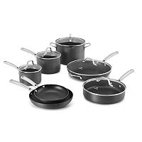 Calphalon Classic 12-pc. Hard-Anodized Nonstick Aluminum Cookware Set