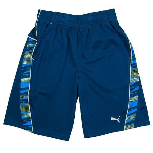 Boys 4-7 PUMA Athletic Microfiber Shorts