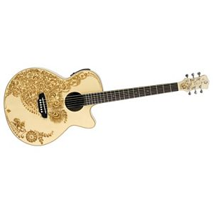 Henna Oasis Acoustic Electric Guitar