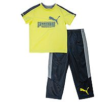 Boys 4-7 PUMA Tee & Pants Set