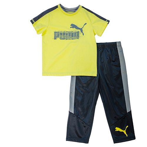 Boys 4-7 PUMA Tee & Pants Set