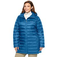 Plus Size Columbia Frosted Ice Hooded Puffer Jacket