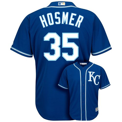 buy popular 1d5c5 37eb5 Men's Majestic Kansas City Royals Eric Hosmer 2015 World ...