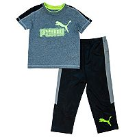 Toddler Boy PUMA Tee & Pants Set