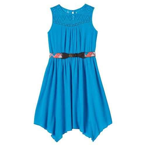 Girls 7-16 & Plus Size Disorderly Kids Handkerchief Dress