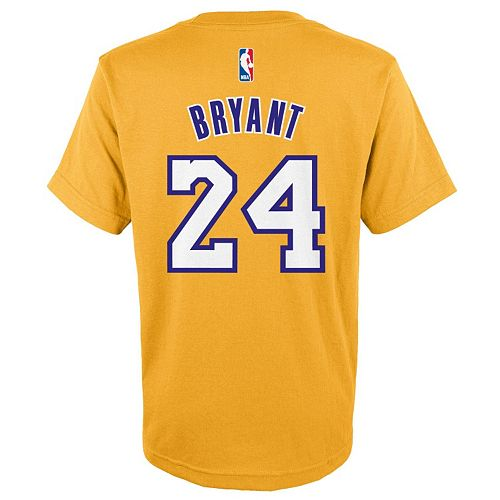 a4763c76844e Boys 8-20 adidas Los Angeles Lakers Kobe Bryant Tee