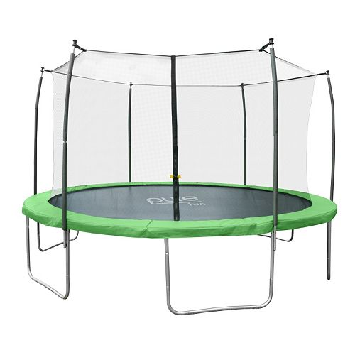 Pure Fun Dura-Bounce 12-ft. Trampoline & Enclosure