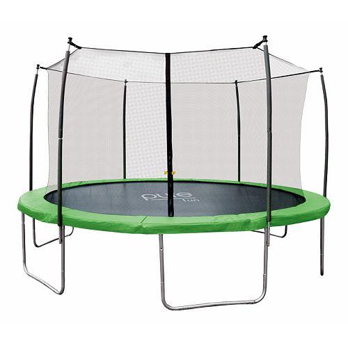 Pure Fun Dura-Bounce 14-ft Trampoline & Enclosure