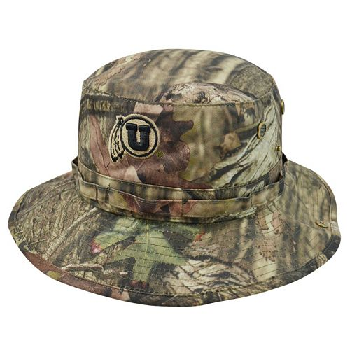 Adult Top of the World Utah Utes Woodsmen Bucket Hat