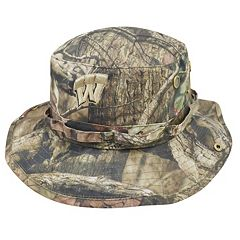 Adult Top of the World Wisconsin Badgers Woodsmen Bucket Hat