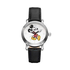 Disney's Mickey Mouse Women's Leather Watch