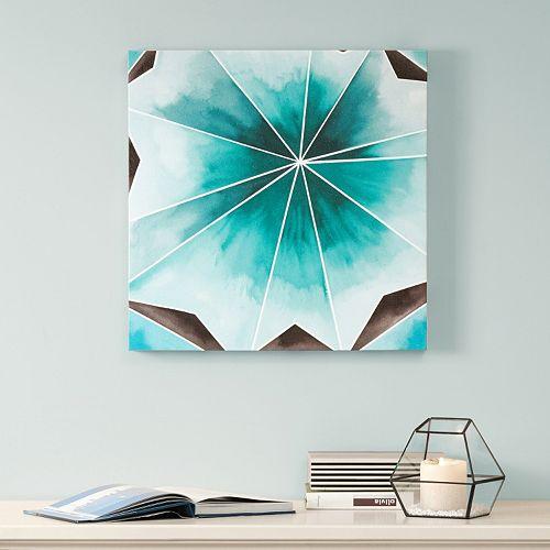 Intelligent Design Cool Gem Canvas Wall Art