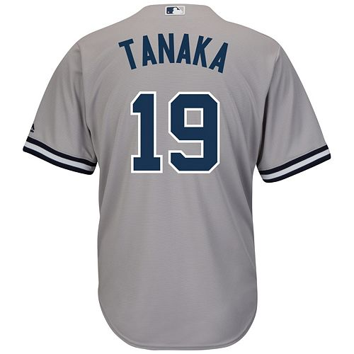 Men s Majestic New York Yankees Masahiro Tanaka Cool Base Replica MLB Jersey 9c96ad7df1e