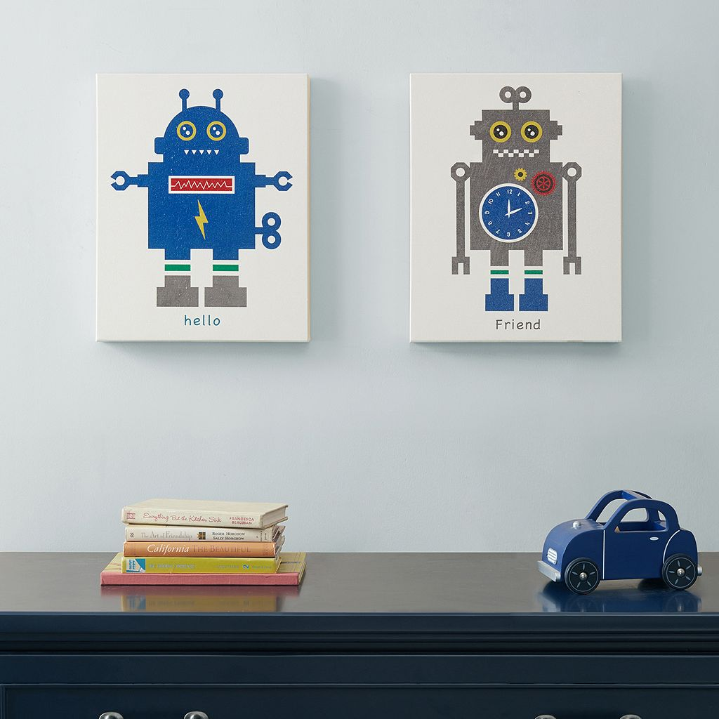 Mi Zone Mr. Robot 2-piece Canvas Wall Art Set