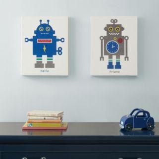 Mi Zone Mr. Robot 2-piece Canvas Wall Art Set