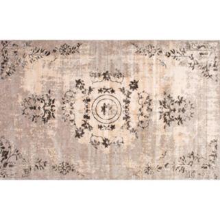 nuLOOM Vintage Viscose Emmer Floral Rug