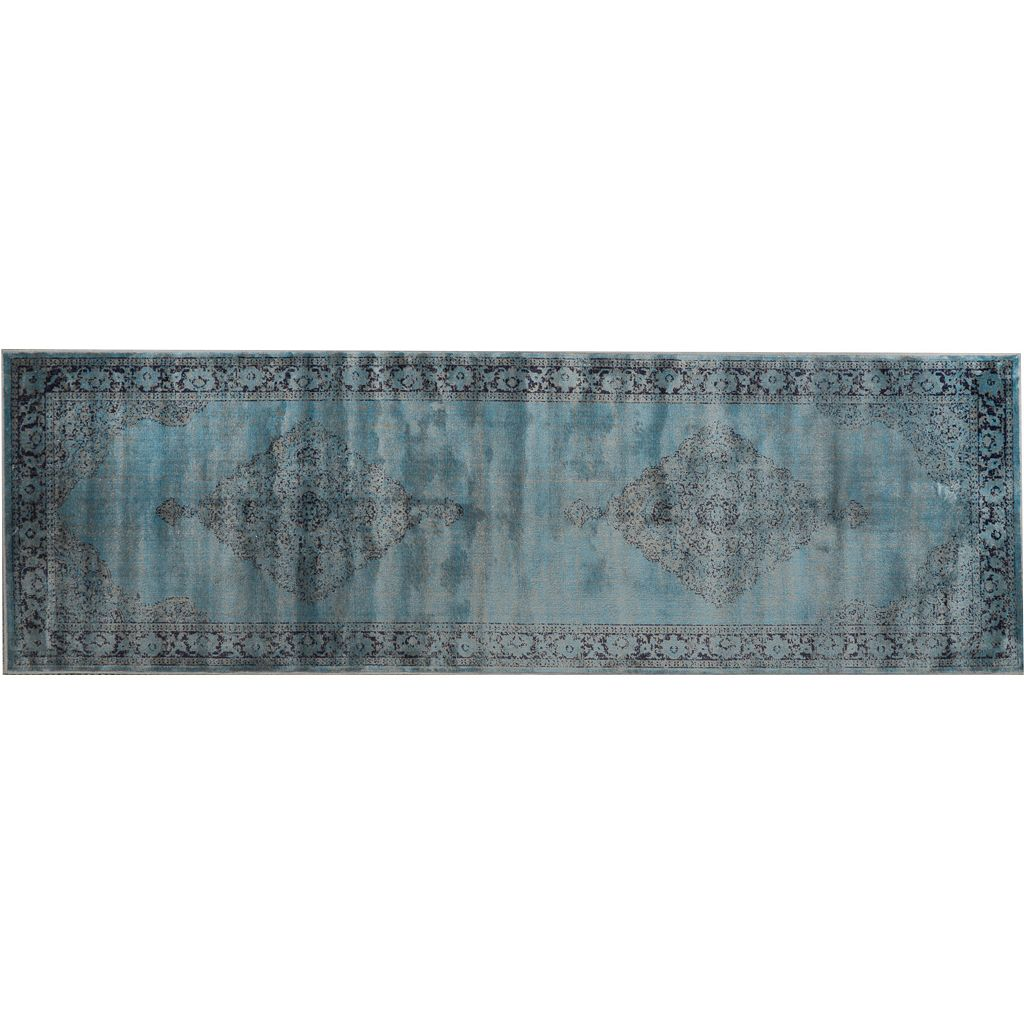 nuLOOM Vintage Viscose Mable Medallion Rug