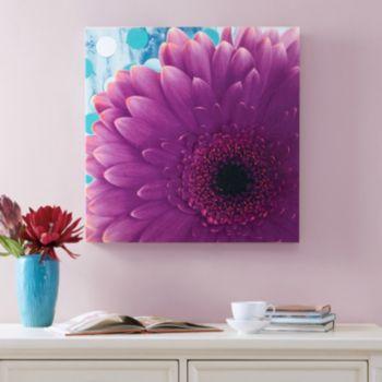 Mi Zone Vibrant Violet Canvas Wall Art