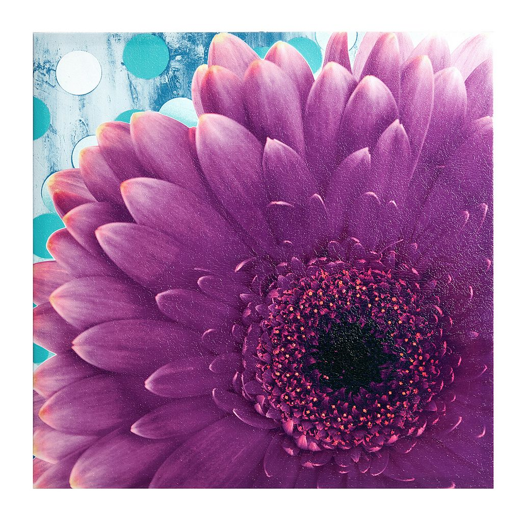 Mi Zone Vibrant Violet Canvas Wall Art