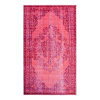 nuLOOM Harper Genisa Overdyed Framed Floral Rug